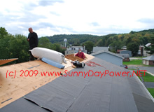 Replace Roof and Insulate Attic Space Prior to Solar Install